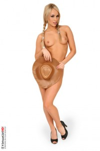 Aleska Diamond cowgirl pics
