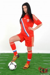 Soccer chick - Chudina European Babes 1By-Day.com